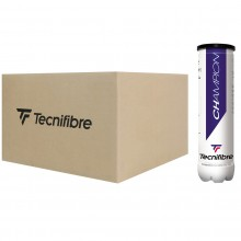 CASE OF 36 CANS OF 4 TECNIFIBRE CHAMPION ONE BALLS