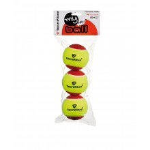 PACK OF 3 TECNIFIBRE MY NEW BALL TENNIS BALLS