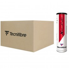 CASE OF 36 CANS OF 4 TECNIFIBRE X-ONE BALLS
