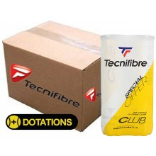 CASE OF 18 BIPACKS DE 4 BALLES TECNIFIBRE CLUB