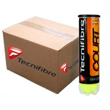 TECNIFIBRE COURT BOX OF 36 4-BALL CANS