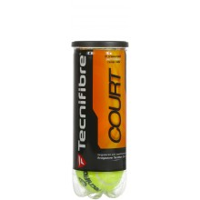 CAN OF 3 TECNIFIBRE COURT BALLS