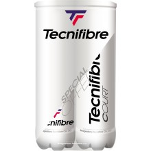 BIPACK OF 4 TECNIFIBRE COURT BALLS