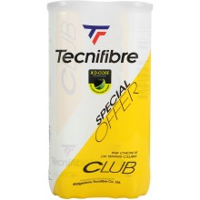 BIPACK OF 4 TECNIFIBRE CLUB BALLS