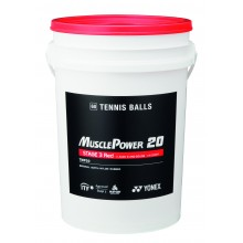 BARREL OF 60 YONEX TMP-20 RED BALLS