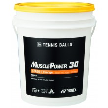 BARREL OF 60 YONEX TMP-40 ORANGE BALLS
