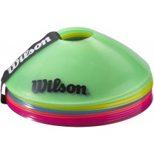 PACK OF 12 WILSON TRAINING CONES