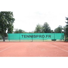 TENNIS WINDBREAK TENNISPRO.FR (18 METERS)