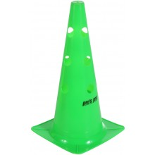 GREEN CONE WITH HOLES - 38CM