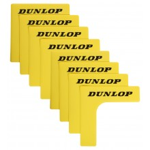 PACK OF 8 DUNLOP COURT ANGLES