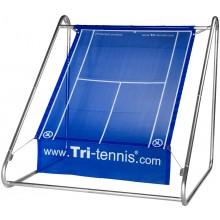 TRI-TENNIS PORTABLE TENNIS WALL PRO (BLUE) + FUN CANVAS