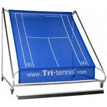 TRI-TENNIS XXL PORTABLE TENNIS WALL (BLUE) + FUN CANVAS