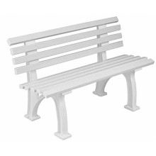 TENNIS BENCH WHITE 1.2M