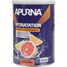 TUB OF APURNA DRINK DURING EFFORT 500G - CITRUS FRUIT FLAVOUR