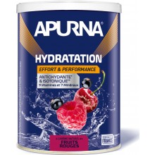 TUB OF APURNA DRINK DURING EFFORT 500G - RED FRUIT FLAVOUR