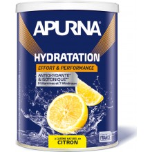 TUB OF APURNA DRINK DURING EFFORT 500G - LEMON FLAVOUR