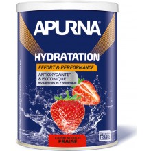TUB OF APURNA DRINK DURING EFFORT 500G - STRAWBERRY FLAVOUR