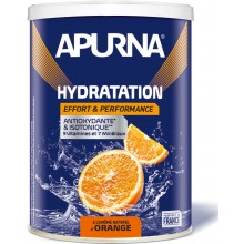 TUB OF APURNA DRINK DURING EFFORT 500G - ORANGE FLAVOUR