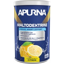TUB OF APURNA MALTODEXTRINE 500G - LEMON FLAVOUR