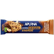 APURNA CRUNCHY ENERGY BAR 35G - CHOCOLATE HAZELNUT FLAVOR
