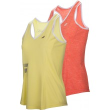 JUNIOR GIRLS' BABOLAT CORE CLUB CROP TANK TOP
