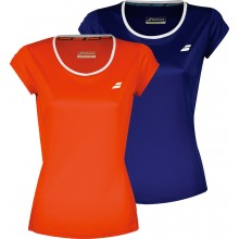 JUNIOR GIRLS BABOLAT FLAG CORE CLUB T-SHIRT
