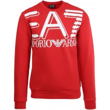 EA7 TRAINING FUNDAMENTAL SPORTY LOGO SWEATSHIRT