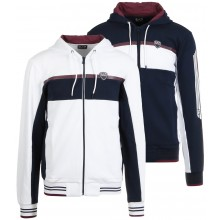 EA7 TENNIS CASUAL SPORTY ZIPPED HOODIE