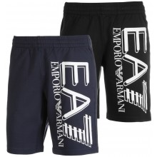 EA7 TRAINING FUNDAMENTAL SPORTY LOGO BERMUDA
