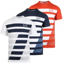 EA7 TENNIS PRO DYNAMIC GRAPHIC T-SHIRT