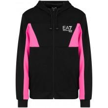EA7 TRAINING SPORTY COLOUR FLASH ZIP HOODIE