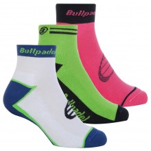 PACK OF 3 PAIRS OF BULLPADEL SOCKS