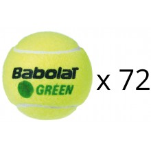 REFILL OF 72 BABOLAT GREEN BALLS