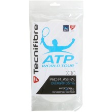 TECNIFIBRE PRO PLAYERS X30 WHITE OVERGRIPS