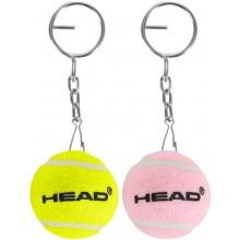 HEAD BALL KEYCHAIN