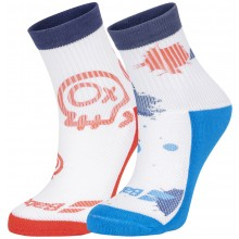 JUNIOR BABOLAT GRAPHIC SOCKS