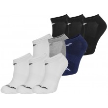 3 PAIRS OF JUNIOR BABOLAT INVISIBLE SOCKS