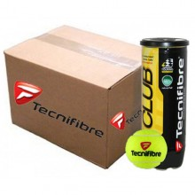 CASE OF 36 CANS OF 3 TECNIFIBRE CLUB BALLS