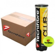 CASE OF 36 CANS OF 4 TECNIFIBRE CLUB BALLS