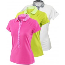 WOMEN'S NIKE ADVANTAGE PRINTED POLO