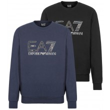 EA7 TRAIN LOGO HOLOGRAPHIC SWEAT TOP