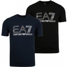EA7 TRAIN LOGO SERIES HOLOGRAPHIC T-SHIRT