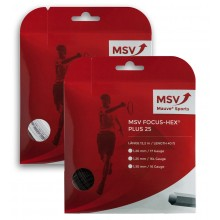 STRING MSV FOCUS HEX PLUS 25 (12 METRES)