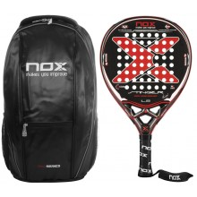 NOX STRINGER 10 YEARS PADEL RACQUET + BACKPACK + ACCESSORIES