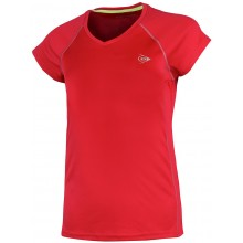 JUNIOR GIRLS' DUNLOP CREW T-SHIRT