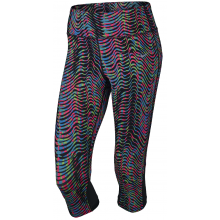 WOMEN'S NIKE PRINTED EPIC LUX 3/4 TIGHTS