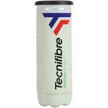 CAN OF 3 TECNIFIBRE TEAM PADEL BALLS