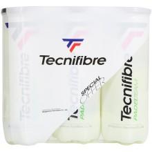 TRIPACK OF 3 TECNIFIBRE TEAM PADEL BALLS