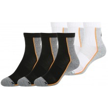 3 PAIRS OF HEAD PERFORMANCE SHORT CREW SOCKS