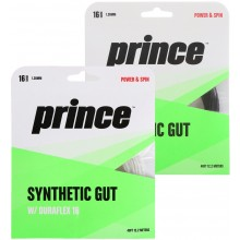 PRINCE SUPER SYNTHETIC GUT DURAFLEX 16 (12 METERS) STRING PACK
